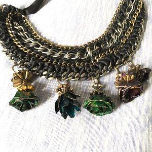 Marni Collar Rose Necklace